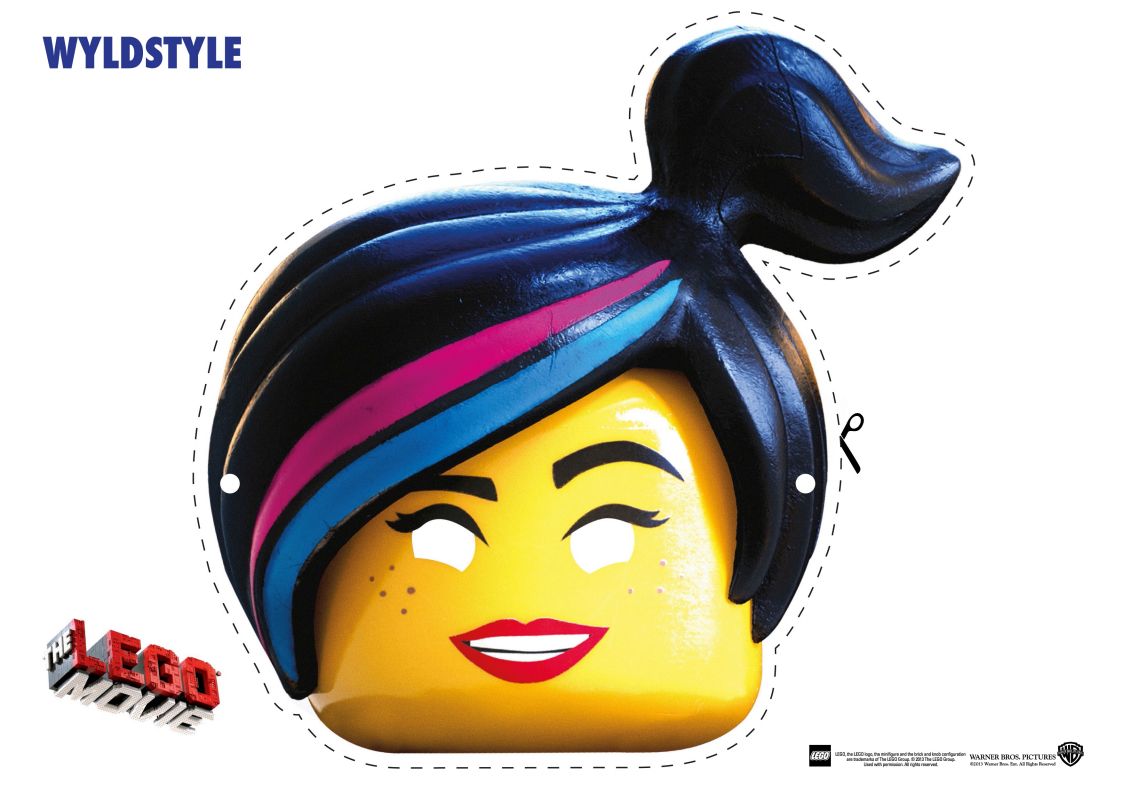 Good The LEGO Movie Character Mask Cut Outs Ideas Free Printable Face Masks